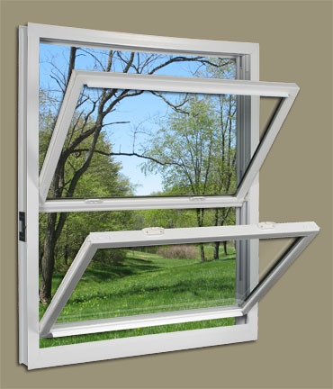 Replacement windows american improvement company for Double hung window